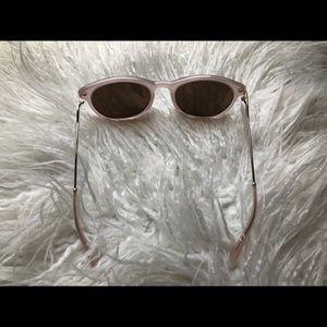 JCrew Sunglasses in Pale Pink